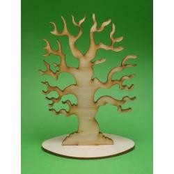 Dřevěný strom s korálkami