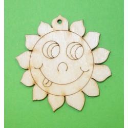 Dřevěné sluníčko malé