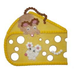 Myši v sýru A4