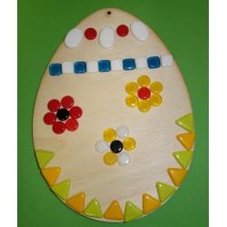 Velikonoční vajíčko s korálkami