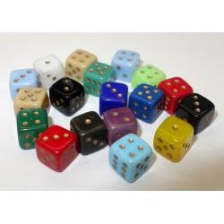 Hrací kostky - 6 ks